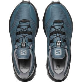 Salomon Supercross Chaussures Femme, mallard blue/black/monument